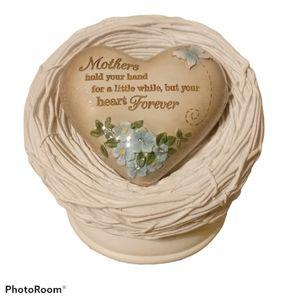 Heart Expressions Music Box - Bird Nest w/ Heart